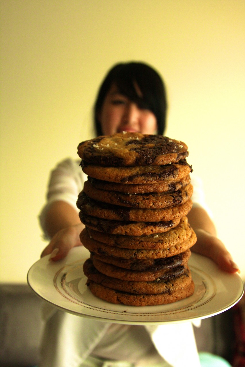 Sam Is Home » Blog Archive » Jacques Torres Chocolate Chip Cookies ...